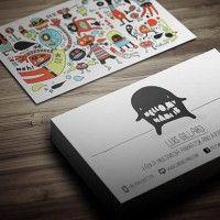 A arte do cartão de visita - Choco la Design | Choco la Design