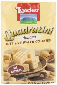 Loacker Quadratini Almond 776Ounces Pack of 8 * Check this awesome product by going to the link at the image.