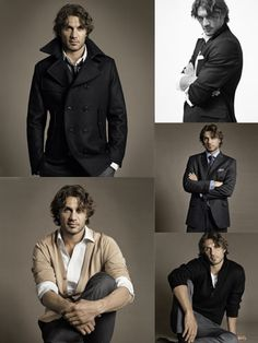 Paolo Maldini - one of my all time fave sport/fashion inspirations.