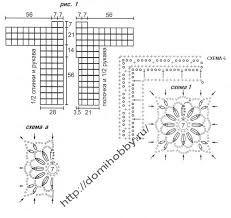 Výsledek obrázku pro шестиугольные мотивы крючком для кардигана