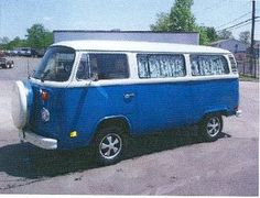 Now how cool was our family?! We had one of these Volkswagon vans in a reddish orange color. My mom made curtains for it. My dad converted the inside into a camper and we camped all over the NW and up and down the California coast. Sweet!