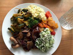 Low-Carb Abendessen - sogar fast no Carb !