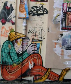 JO BER. Quartier Mouffetard Paris