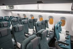 Der beste Platz in der Cathay Pacifc Economy Class im Airbus A350.  #cathaypacific #economyclass #review #airbus #airbusa350 #travel #travelling #review #reiseblogger