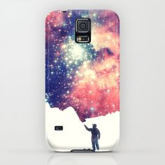 """Painting the universe"" Galaxy S5 Phone Case by Badbugs_art on Society6."