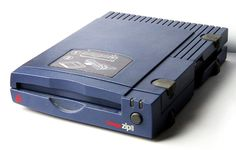 ••Iomega's Zip drive•• Hottest Media 1994-99 • preceded by pioneer SyQuest 1982-1995 • both went bankrupt due to CDs, later USB flash • site (defunct): Iomega.com • iomega wiki: https://en.wikipedia.org/wiki/Zip_drive • SyQ wiki: https://en.wikipedia.org/wiki/SyQuest_Technology