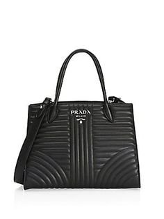 Prada Quilted Leather Satchel Quilted Leather e958dcd4f4f6f