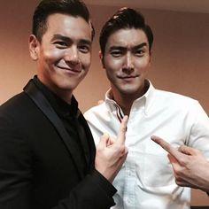 Eddie Peng y Siwon