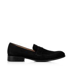 KACHOROVSKA / black suede wedding loafers Black Suede, Loafers, Wedding, Shoes, Fashion, Travel Shoes, Valentines Day Weddings, Moda, Zapatos