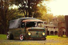 #volkswagen #vw #bus #slammed #bagged