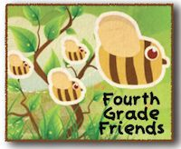 Another cute way to direct your fourth graders into their classroom!  Or you could put it in your meeting area/circle time space!