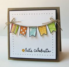 Scrapping Mommy: Celebration Banner Card