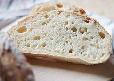 Knådfritt grytbröd | Fridas Bakblogg Bread Recipes, Soup Recipes, Dessert Recipes, Desserts, Food Fantasy, Our Daily Bread, Rolls, Baking, Corner