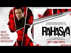 Rahasya HD Movie 2015 Download Torrent 2015 Movies, Hd Movies, Movies Online, It Movie Cast, It Cast, Student Society, Latest Bollywood Movies, Ubs, Website
