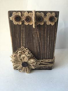 A personal favorite from my Etsy shop https://www.etsy.com/listing/230617385/rustic-wood-block-frame