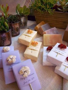 Ebb & Flow mini soap favors. Perfect for weddings, showers, bar mitzvahs, bat mitzvahs, and corporate events! All custom. Honeysuckle, Pom Pom Pear, Amethyst, Sweet Pea, Brown Sugar Fig www.ebbandflownyc.com @ebbandflownyc