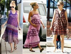 nicole richie hippie indian dress