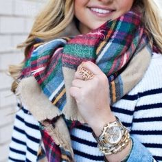 Plaid blanket scarf multi So gals, you cleaned me right out of my blanket scarves! In only a few days, my cozy bundles were SOLD! Well the trendy look you loved is back again baby & for the LOW price you'd get in-store! This plaid design will keep you warm in this chilly weather  // get yours! Brand new in plastic. No brand or tags // you won't find a better deal girl! Get it before it's gone again! please ask for your own listing if you'd like this piece, & I'll try to get you a shipping…