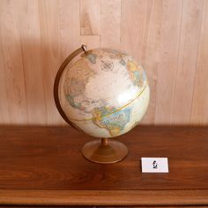 Mid-Century Modern - Globe terrestre