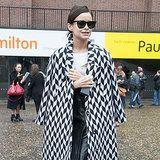 Best Street Style at London Fashion Week Fall 2014
