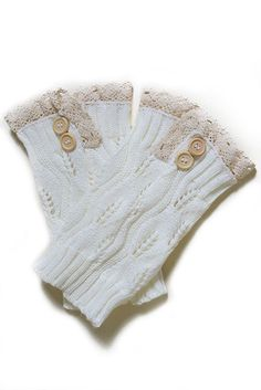 Online Clothing Boutique | Kelly Brett Boutique - Lace Boot Socks White   , $12.00 (http://www.kellybrettboutique.com/lace-boot-socks-white/)
