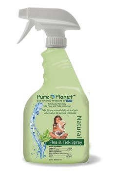 Pure Planet Eco- Friendly Natural Flea and Tick Spray-On Shampoo, RTU - Gal. - 128oz -- Find out more about the great product at the image link.