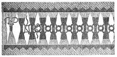 Single and Cut Open Work - Chapter III -Encyclopedia of Needlework, stitching, Hem stitching, Open work patterns Hardanger Embroidery, Hand Embroidery Stitches, Drawn Thread, Blackwork, Needlework, Cross Stitch, Leo, Antique Lace, Hand Stitching