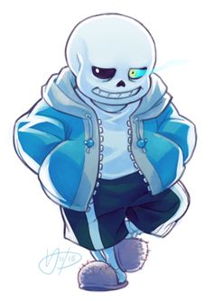 theslowesthnery:  i'm terribly sorry all i have to contribute to the fandom are super boring drawings of sans