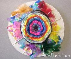 Circular Weavings Art is Basic