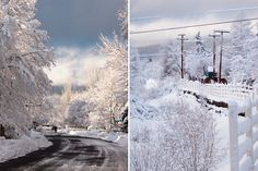 Flagstaff, Arizona. The snow gets old pretty fast but I can't help but miss it when I see a gorgeous picture like this. It makes me excited to go back! :)