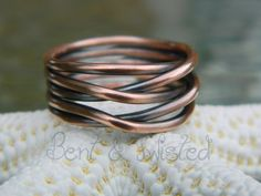 Cool this would suit me just fine ;~D Copper Knot Ring $25.00 http://www.artfire.com/ext/shop/product_view/4860483