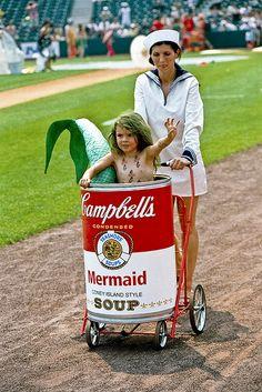 Mermaid Soup, Coney Island Style, Coney  Island Mermaid Parade, NYC.