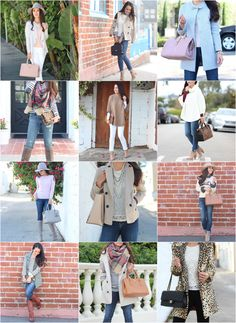 Quick and easy casual chic outfit ideas already put together for you!  StylishPetite.com