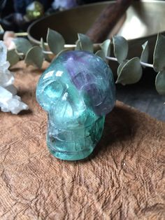 A personal favorite from my Etsy shop https://www.etsy.com/listing/293656303/purple-and-green-fluorite-lighting-bolt