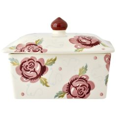 Rose & Bee Butter Dish - Emma Bridgewater