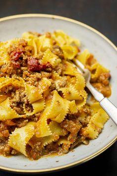 Pasta Recipes, Dinner Recipes, Pasta Noodles, Pesto, Curry, Food Porn, Pizza, Cooking, Ethnic Recipes