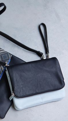 Block brights are big news this season and our Bella Zip Flap Cross Body Bag fits the bill nicely.