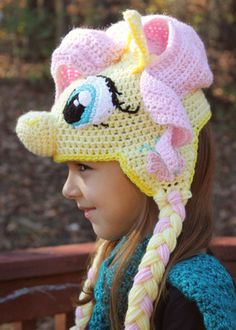 My Little Pony Fluttershy Costume, Crochet Hat Pattern