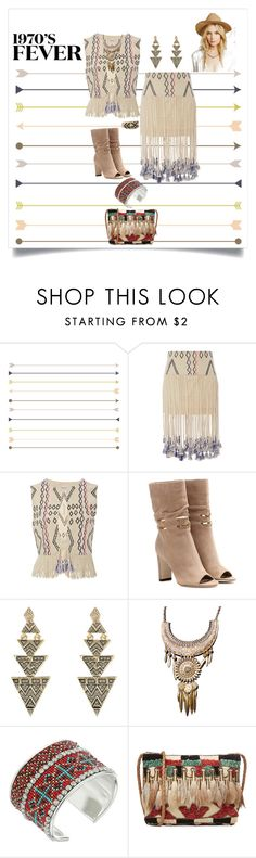 """""""1970s Fever"""" by shoecraycray ❤ liked on Polyvore featuring Gypset, Jimmy Choo, House of Harlow 1960, M&F Western, Antik Batik and Pamela Love"""