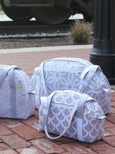 By popular demand, Bijou is back and better than ever! All bags feature a padded exterior zippered pocket that is perfect for carrying tablet computers, iPads, or eReaders. A large exterior patch pock