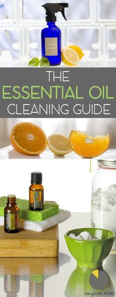 Essential oils have been around for centuries! Learn how to use them in everyday cleaners to make you home not only clean but smell delicious!