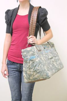 Mich diaper bag  Military camo diaper bag by SnappierU on Etsy, $80.99