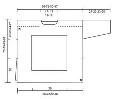Pulóver a ganchillo con cuadrado y patrón de calados. Tallas S – XXXL. La pieza es trabajada en DROPS Nepal.