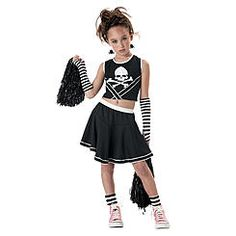 punk cheerleader halloween costume