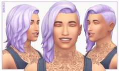 I made this hair for Salim SO long ago (almost a year ago! gasp!) but I still get daily messages asking me to release it. It's had some issues that I didn't know how to fix for a long time but I...