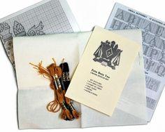 Sorority & Fraternity Cross Stitch Kits SALE $22.95. - Greek Clothing and Merchandise - Greek Gear®