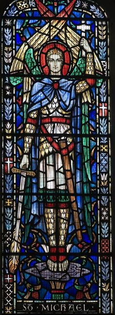 Bladon-Church stained glass @mikesemple #mike1242