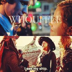 I don't ship it, but the portmanteau Whouffle is freaking adorable