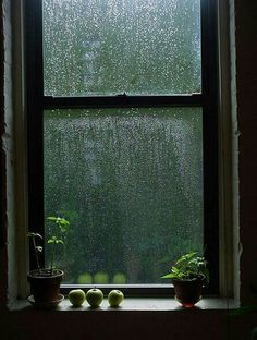 I Love The Sound Of Rain Against The Window
