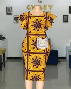 African Dresses For Kids, Latest African Fashion Dresses, African Dresses For Women, African Print Fashion, African Attire, Ankara Dress Designs, African Print Dress Designs, Ankara Gown Styles, African Fashion Traditional
